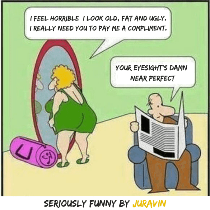 Compliment Seriously Funny by Don Juravin